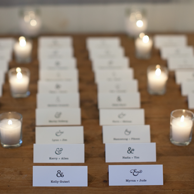 Ampersand Wedding Website
